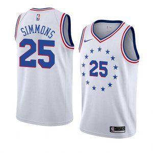 Ben Simmons White Jersey (2)